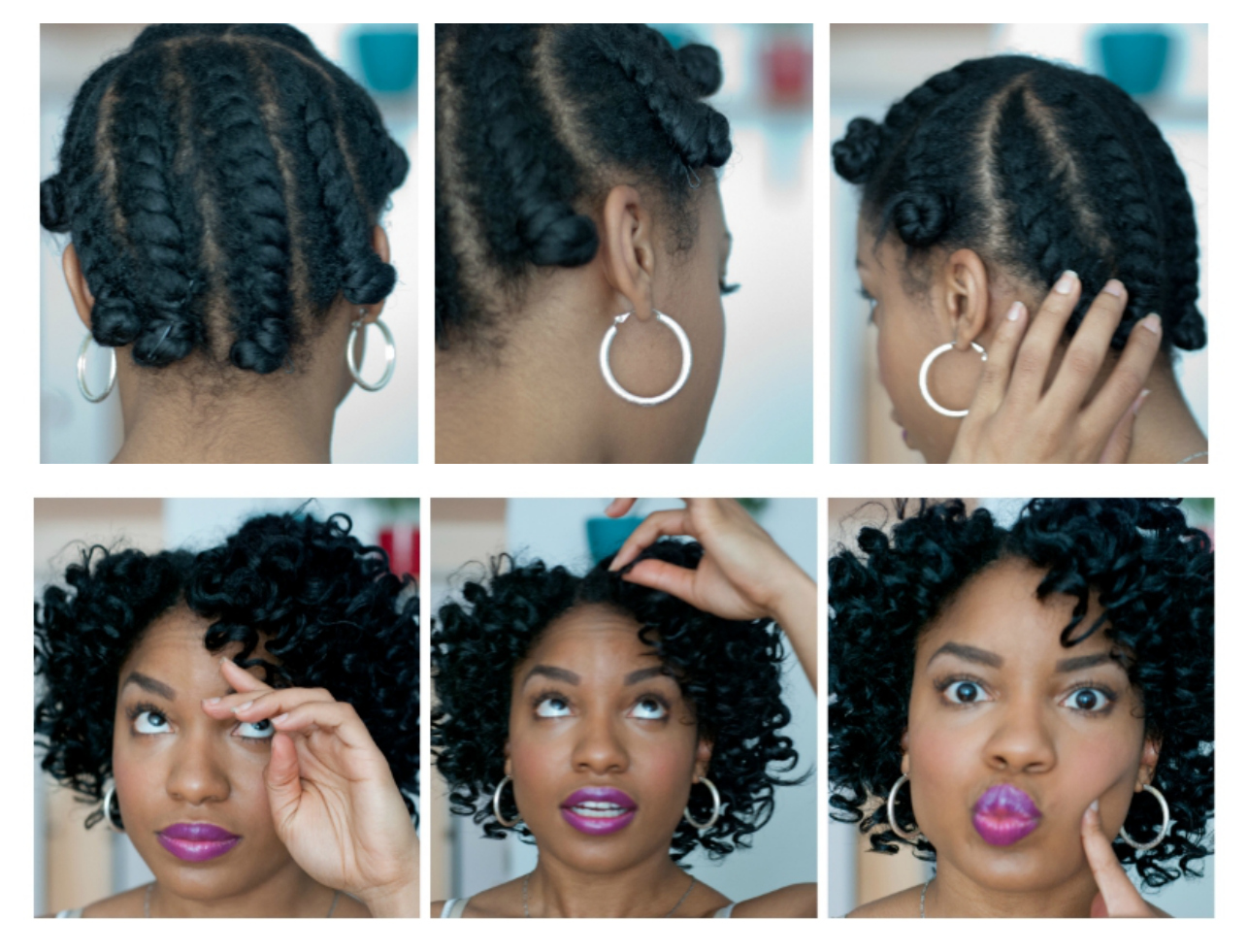 How To Hairstyle On A Bad Hair Day !