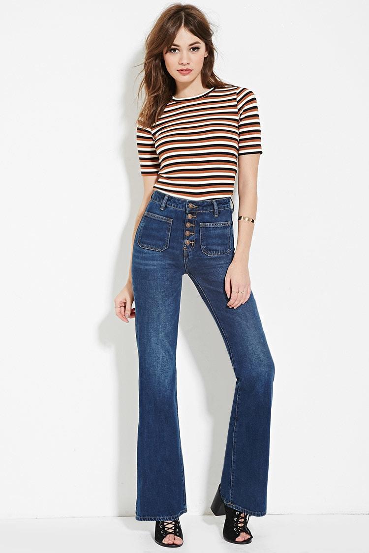 Flared Women Jeans